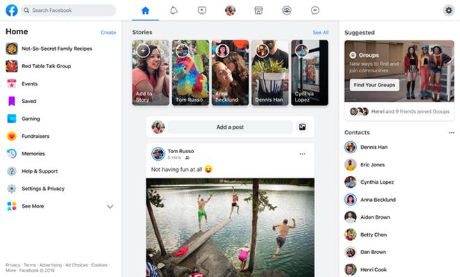 hot: facebook tung giao dien dark mode moi cho trinh duyet web hinh anh 2