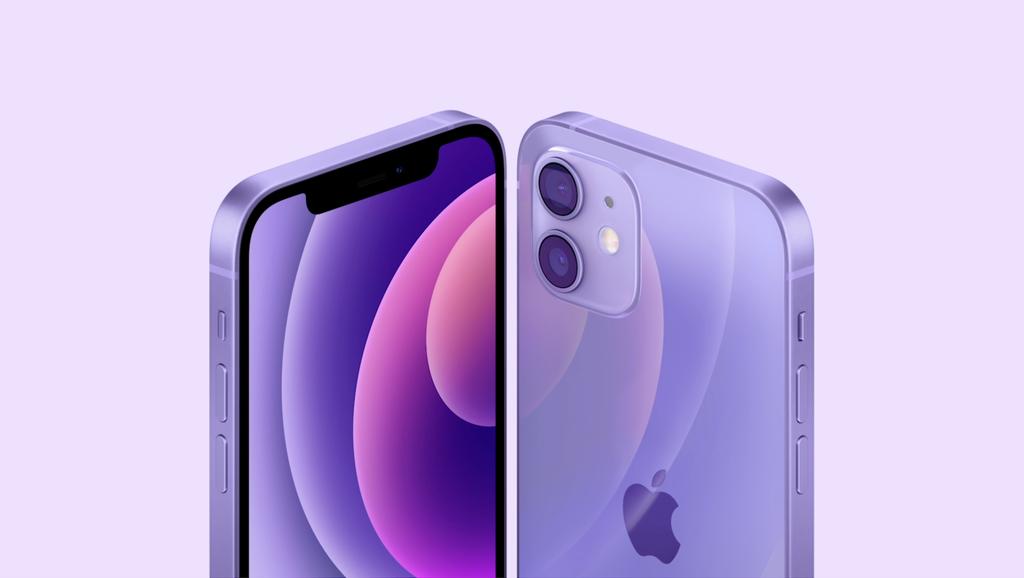 Apple ra mắt iPhone 12 và iPhone 12 mini màu tím cực đẹp ảnh 1