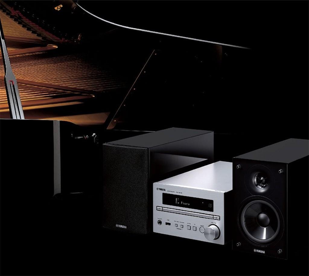 Yamaha MCR-B370 – Dàn mini hifi chế tác khắc khe theo tiêu chuẩn đàn piano ảnh 2