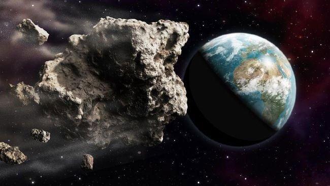Hình ảnh mô phỏng của NASA về tiểu hành tinh có kích thước bằng một ngọn núi.