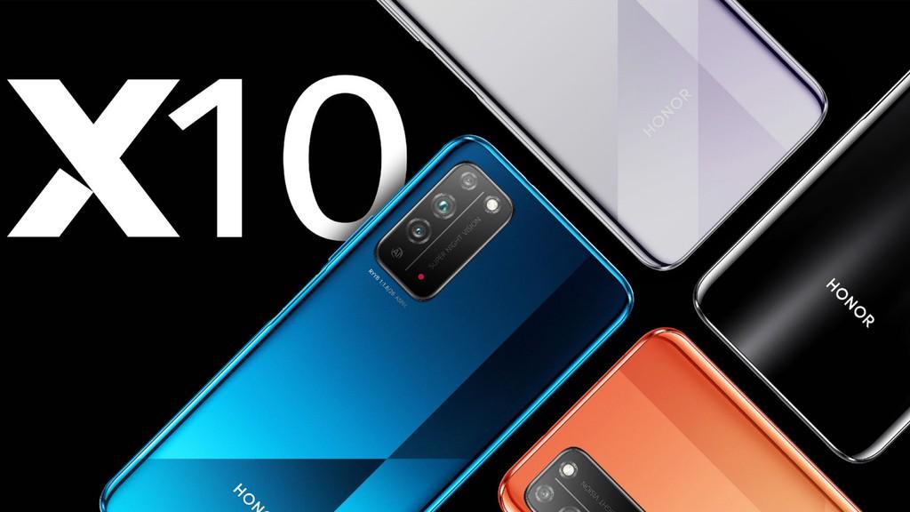 Honor X10 chính thức ra mắt: camera 40MP, sạc nhanh 22.5W, giá từ 267 USD ảnh 1