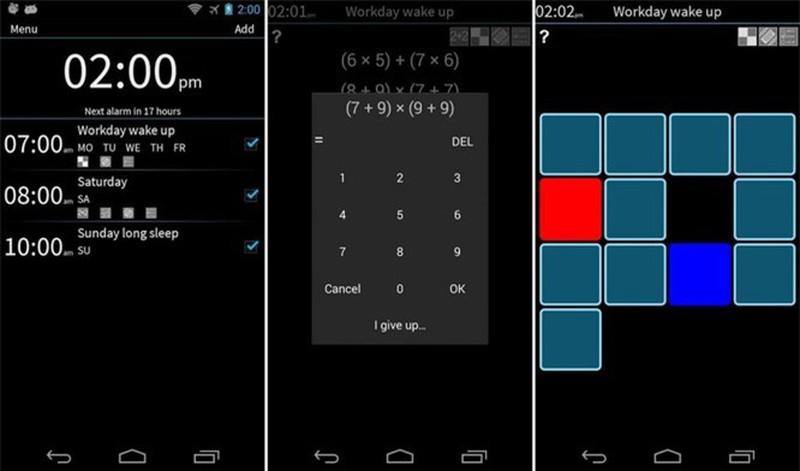 Ứng dụng báo thức trên smartphone khiến bạn không thể không thức dậy