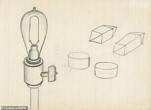 Những điều ít biết về mẩu phác thảo bằng chì đắt nhất thế giới