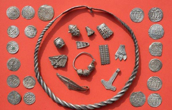 Kho báu của đế chế Viking luôn thu hút sự chú ý lớn đến từ giới khoa học