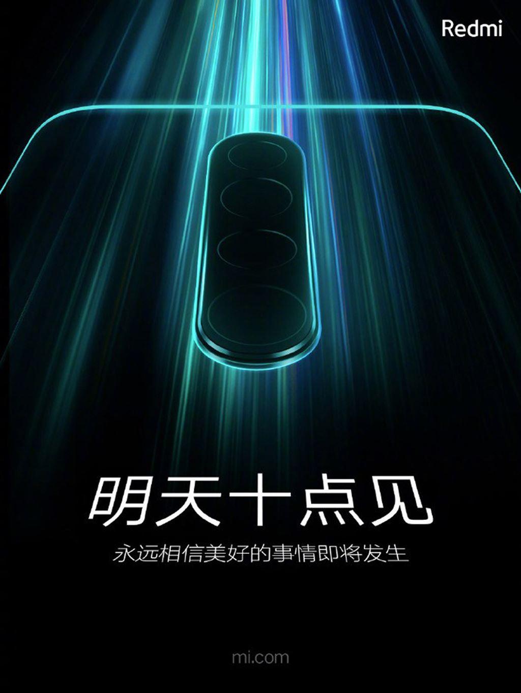 Redmi Note 8 Pro lộ diện đi kèm cụm camera 64MP ảnh 1