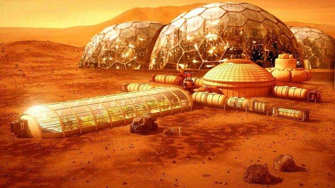 Viễn cảnh thuộc địa hóa sao Hỏa của người Trái đất.