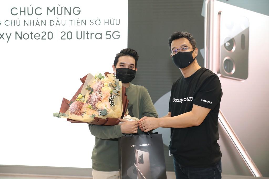 Những người sở hữu Galaxy Note20 series đầu tiên ở Việt Nam đã nói gì ? ảnh 2