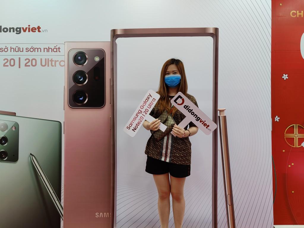 Những người sở hữu Galaxy Note20 series đầu tiên ở Việt Nam đã nói gì ? ảnh 4