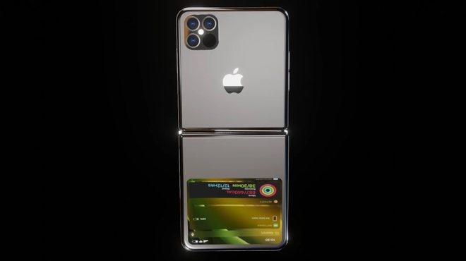 Thiet ke iPhone 12 Flip man hinh gap anh 2