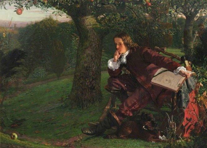 Cây táo của Newton có vị trí đặc biệt trong lịch sử khoa học.