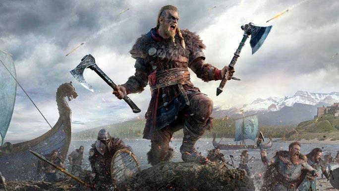 Hình ảnh về người Viking trong một bộ phim.