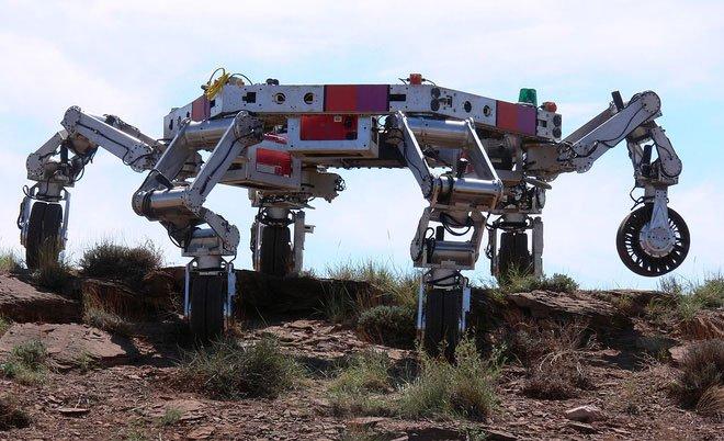 Robot ATHELE của NASA với tiềm năng di chuyển trên mọi địa hình