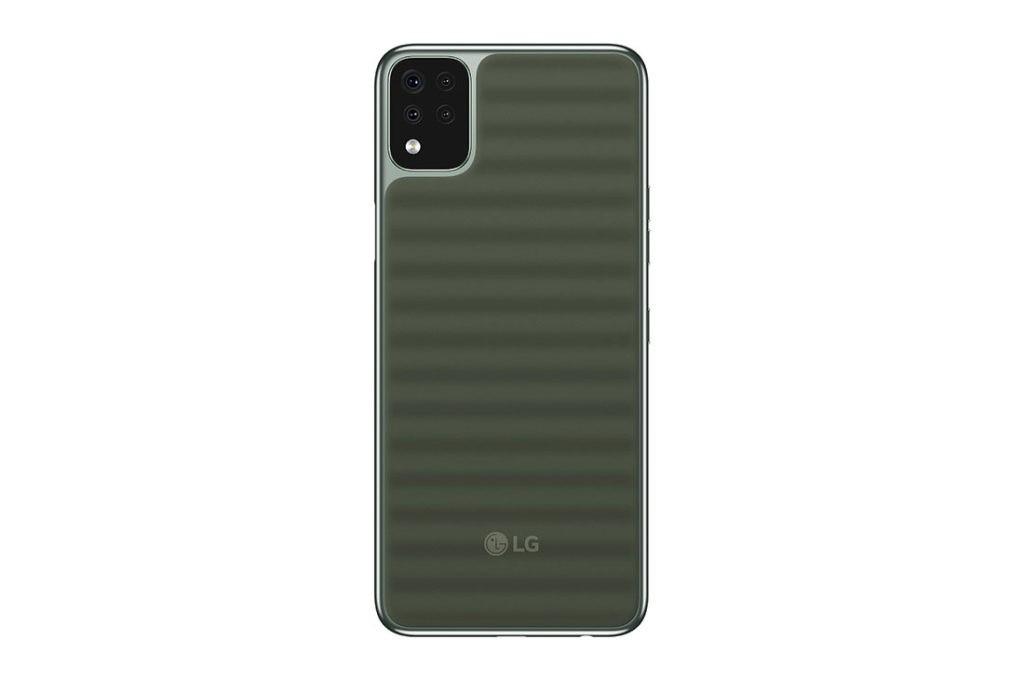 LG Q42 ra mắt: smartphone giá rẻ chuẩn quân đội Mỹ, mặt lưng lạ mắt ảnh 2