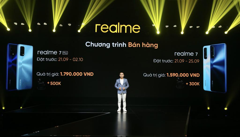 Realme 7 và 7 Pro ra mắt thị trường Việt giá từ 7 triệu kèm quà tặng tai nghe Buds Q giá 1,3 triệu ảnh 8
