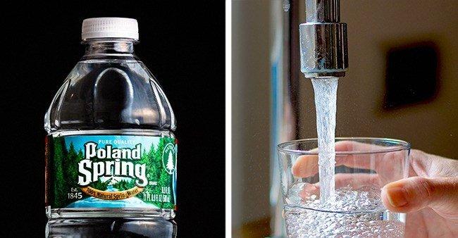Nước trong chai đến từ đâu?