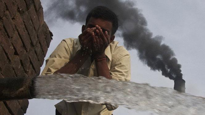 Không ít vùn gở Ấn Độ bị ô nhiễm nặng.