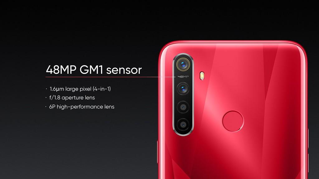 Realme 5s ra mắt: pin 5000 mAh, 4 camera sau 48MP, giá từ 139 USD ảnh 2