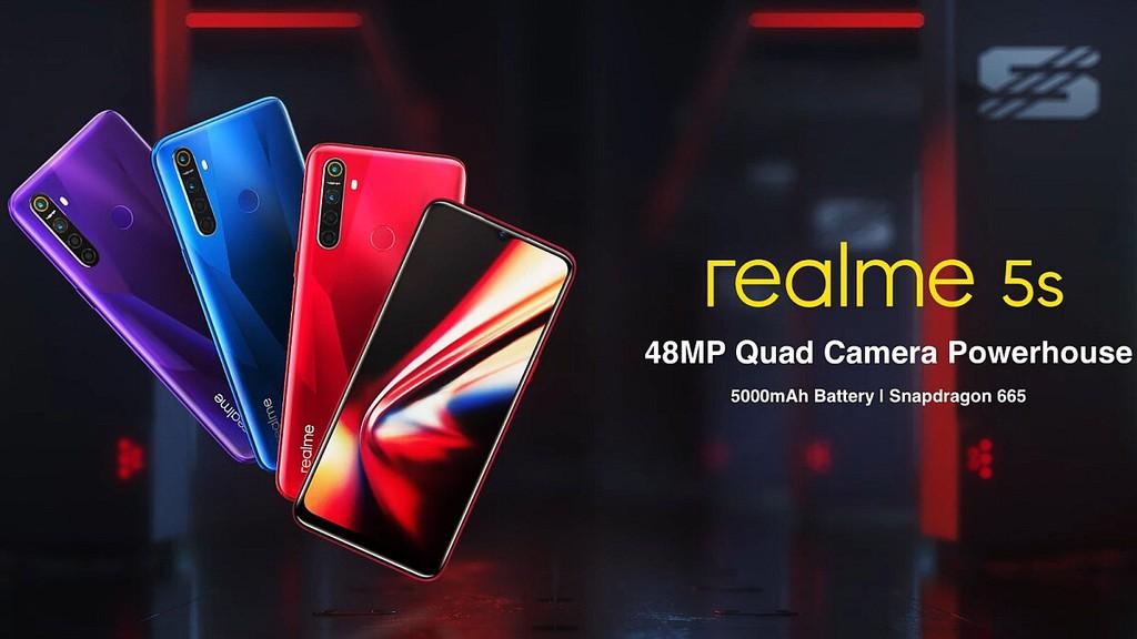 Realme 5s ra mắt: pin 5000 mAh, 4 camera sau 48MP, giá từ 139 USD ảnh 3