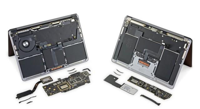 """""""Mổ bụng"""" MacBook M1 mới: không nhiều thay đổi ảnh 1"""