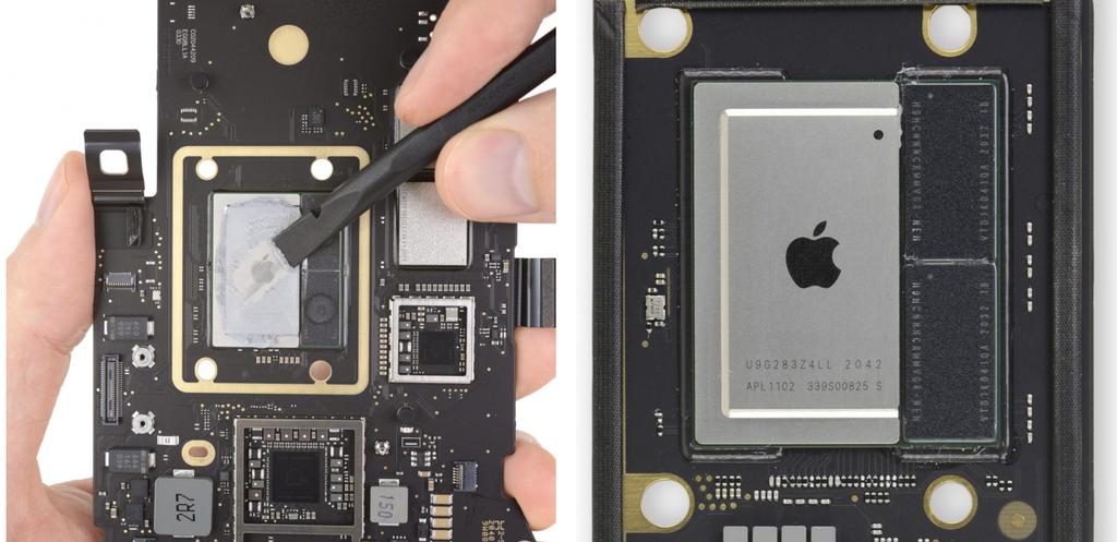 """""""Mổ bụng"""" MacBook M1 mới: không nhiều thay đổi ảnh 4"""