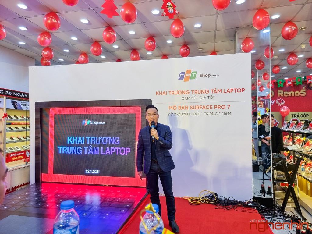 FPT Shop khai trương 68 Trung tâm trải nghiệm laptop, mở bán Surface Pro 7 siêu bảo hành ảnh 2