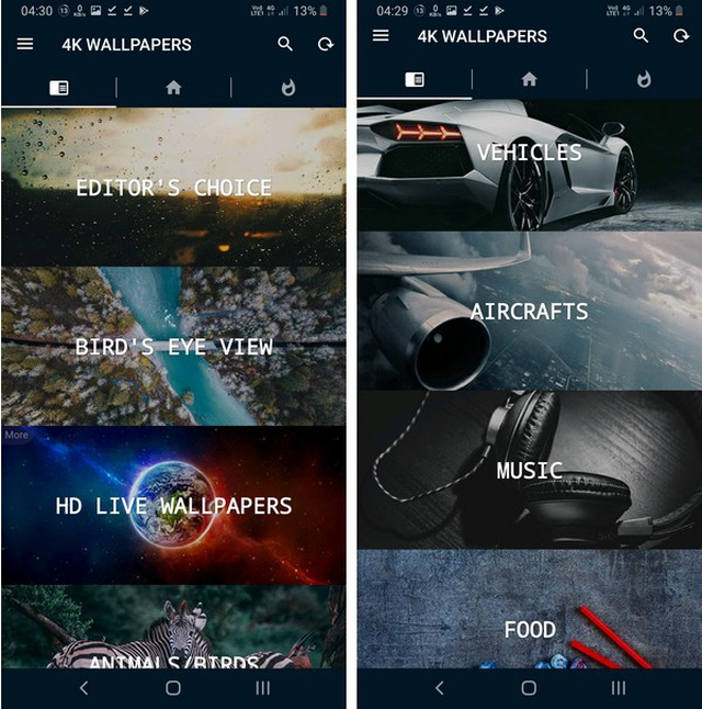 Bộ sưu tập hình nền chất lượng cao và tuyệt đẹp dành cho smartphone - 3