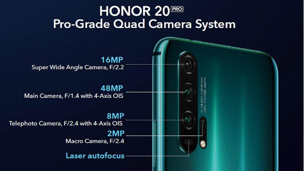 Honor 20/20 Pro ra mắt: 4 camera 48MP, màn hình đục lỗ, giá 556 USD ảnh 7