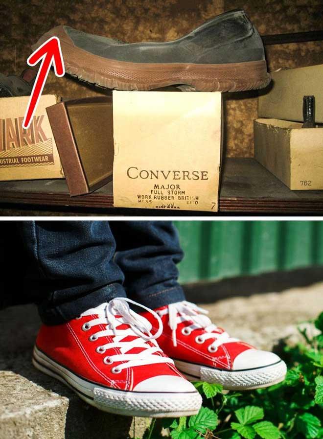 Tại sao giày sneaker thường có phần mũi bịt cao su?