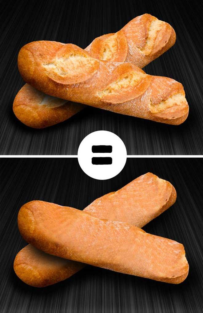 Tại sao hay có vết cắt trên thân bánh mỳ kiểu Pháp?