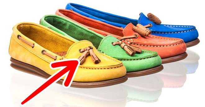 Tại sao một số loại giày có tua?