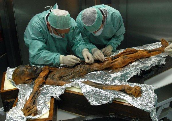 Xác ướp nổi tiếng Otzi và cái nhìn về người cổ