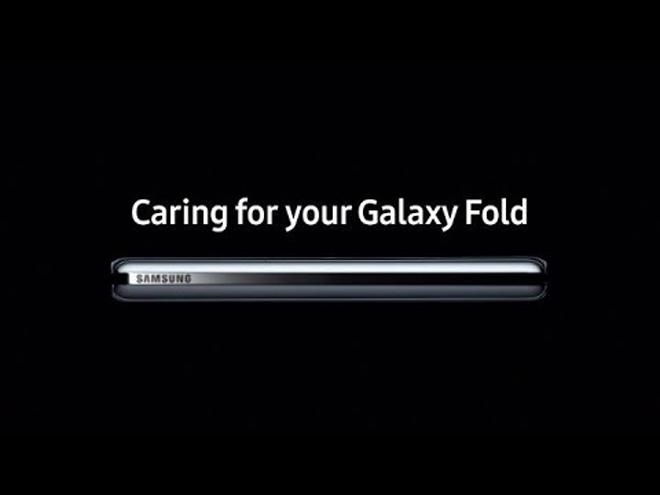xoa bo moi lo au voi video galaxy fold moi nhat hinh anh 1