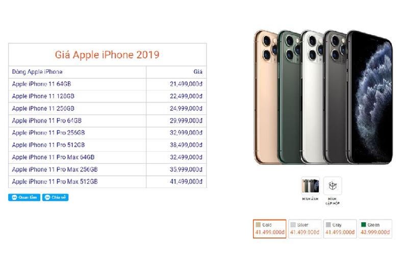 iPhone 11 rot gia gan 6 trieu sau mot ngay ve Viet Nam