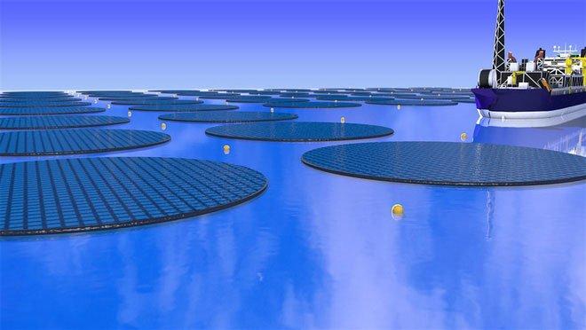 Trang trại năng lượng Mặt trời nổi này sẽ giải quyết cảnh phụ thuộc vào nhiên liệu hóa thạch.