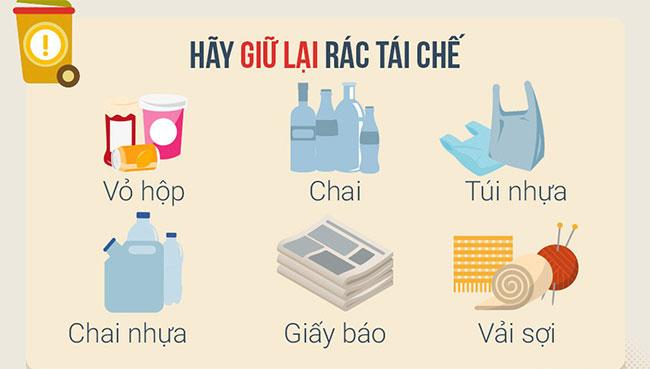 Cách phân loại rác tại nhà, bạn biết chưa?
