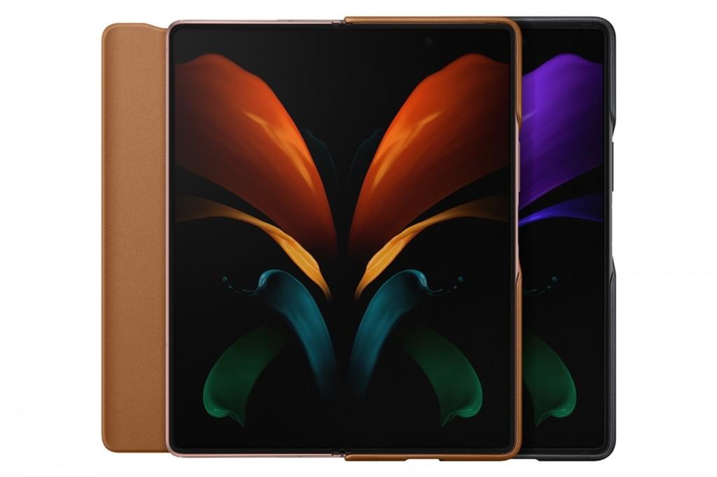 Samsung ra mắt ốp da cho Galaxy Z Fold2, Galaxy Buds Live ảnh 1