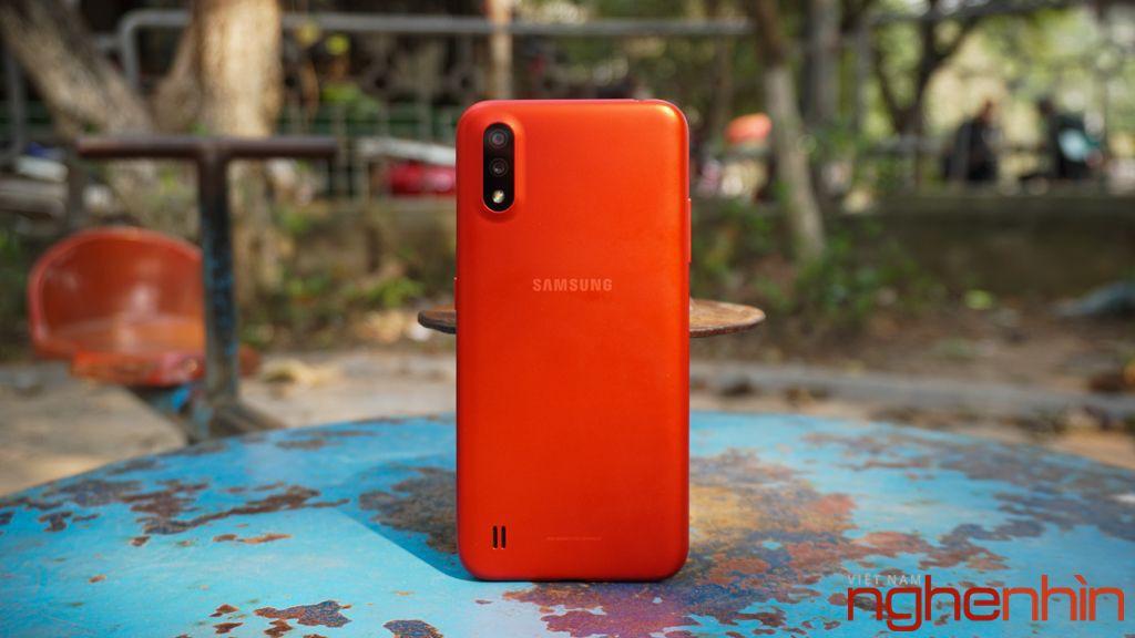 Galaxy A02: smartphone giá rẻ nhất Samsung pin 5.000mAh chuẩn bị lên kệ ảnh 1