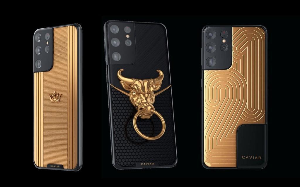 Đón tết Tân Sửu 2021, Caviar giới thiệu Galaxy S21 Ultra đầu trâu vàng, giá 461 triệu đồng ảnh 1