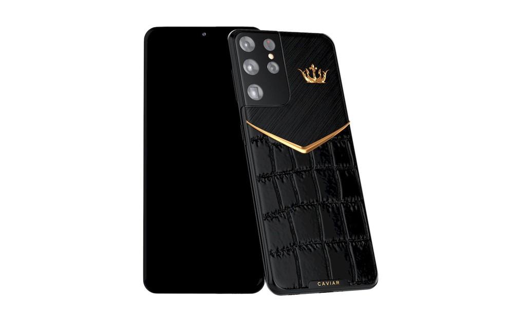 Đón tết Tân Sửu 2021, Caviar giới thiệu Galaxy S21 Ultra đầu trâu vàng, giá 461 triệu đồng ảnh 4