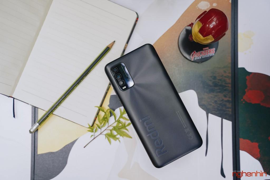 Trên tay Redmi 9T giá 4 triệu đồng thiết kế đẹp pin 6.000mAh, camera 48MP ảnh 1
