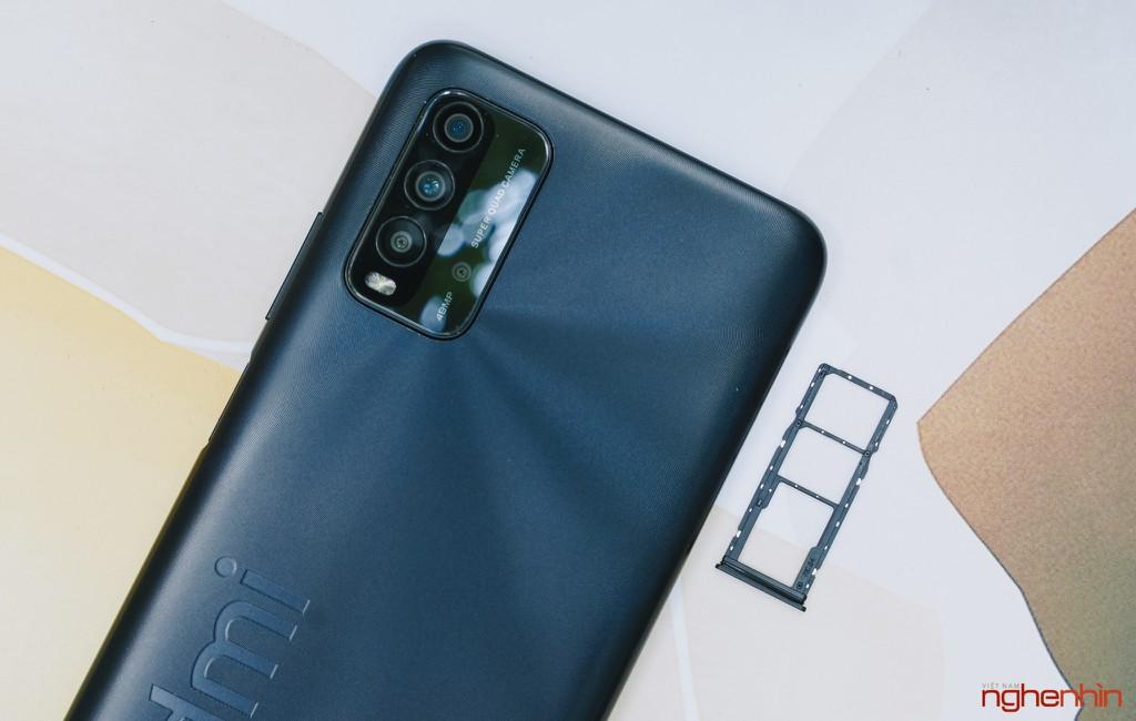 Trên tay Redmi 9T giá 4 triệu đồng thiết kế đẹp pin 6.000mAh, camera 48MP ảnh 13