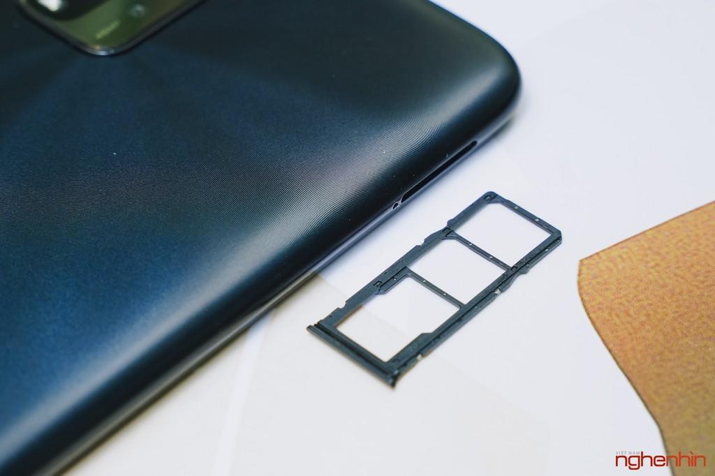 Trên tay Redmi 9T giá 4 triệu đồng thiết kế đẹp pin 6.000mAh, camera 48MP ảnh 14
