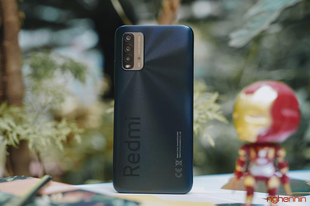 Trên tay Redmi 9T giá 4 triệu đồng thiết kế đẹp pin 6.000mAh, camera 48MP ảnh 5
