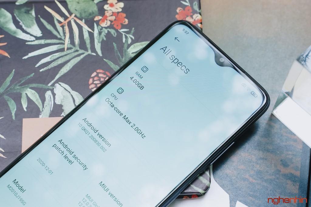 Trên tay Redmi 9T giá 4 triệu đồng thiết kế đẹp pin 6.000mAh, camera 48MP ảnh 10