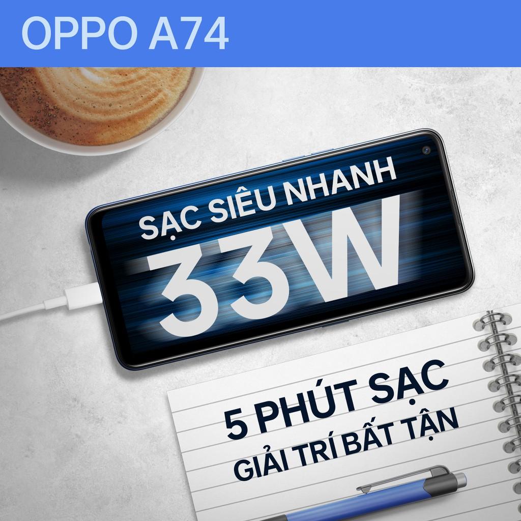 OPPO A74 lên kệ: dung lượng pin lớn, sạc siêu nhanh, giá 6,7 triệu ảnh 3