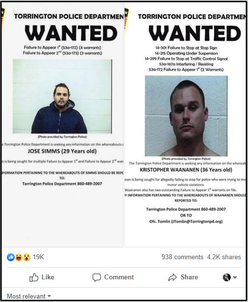 Tên tội phạm Mỹ hứa ra đầu thú nếu bài đăng truy nã hắn được 15.000 likes trên Facebook - Ảnh 2.