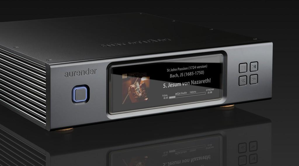 Aurender N200 trình làng - Công nghệ thừa hưởng từ model N20, màn hình lớn hiển thị bìa album ảnh 1