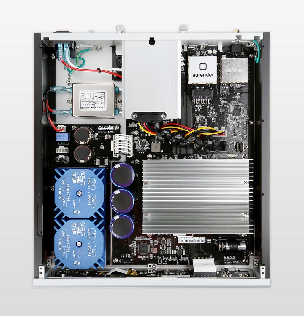 Aurender N200 trình làng - Công nghệ thừa hưởng từ model N20, màn hình lớn hiển thị bìa album ảnh 4