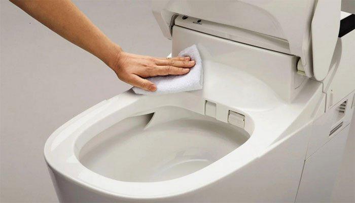 Panasonic hiện đang hướng nguồn lực đáng kể vào việc phát triển các nhà vệ sinh dễ làm sạch