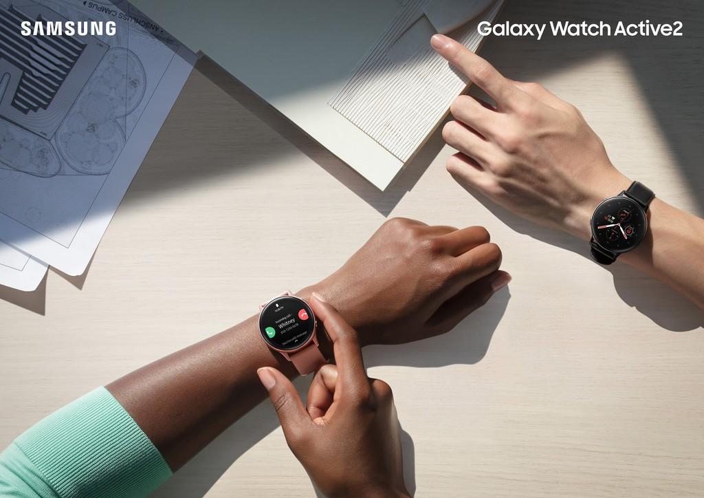 Galaxy Watch Active2 ra mắt thị trường Việt giá từ 7,5 triệu tặng tai nghe Bluetooth AKG  ảnh 1